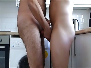 daddy kitchen fuck