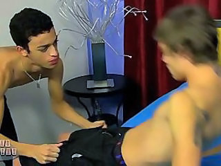 New Boy Blake Fucks Dustin Bareback!