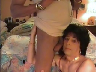 Crossdresser Sucks BBC