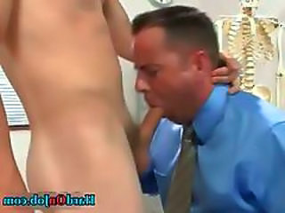 Student Gets His Hard College Cock