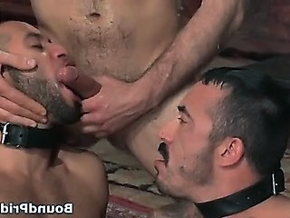 Alessio and Leo in horny extreme gay
