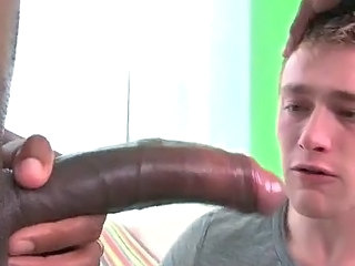 Young stud fucking with the addition of sucking big black