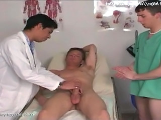 Hot doctor jumps on cock Maverick