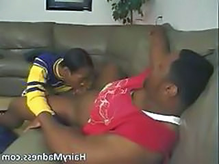 Horny Ebony Hoe Sucking Big Black Boner