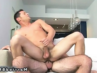 Married man gets hot gay blowjob