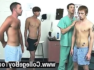 Gay sex Today a group of lads stop by the clinic wanting to collect