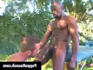 Great black gay dude gets his black cock gay boys free