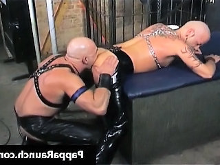Kinky muscled ladies' getting slammed part4