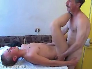 Mature men fuck young boy