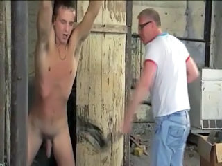 BDSM slave gay boy whipped milked schwule jungs