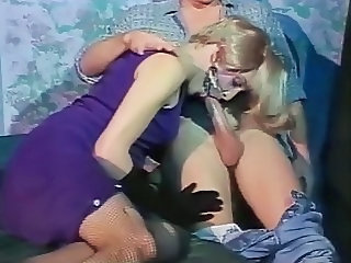 Hot blonde vintage Crossdresser