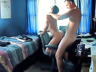 amateur DAD bare fuck YOUNGER man's ASS