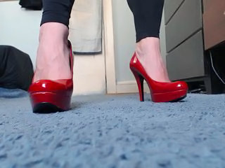 red pumps