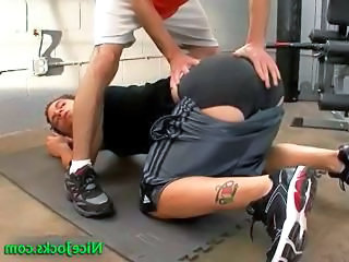 attractive jock cory gets it doggy part2