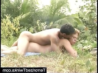 Dick swinging in the jungle...
