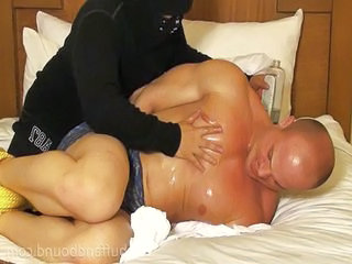 Kyle Stevens bound for fetish
