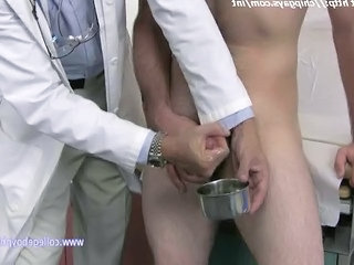 Doctor Masturbating Patients Cock