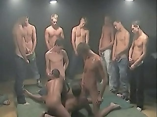 gay group get fucked - Gay sex video -