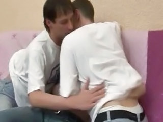 Gay Threesome Anal Bareback
