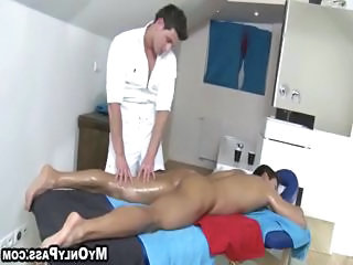 Sensual Massage Turns Into Wild Sex In A...