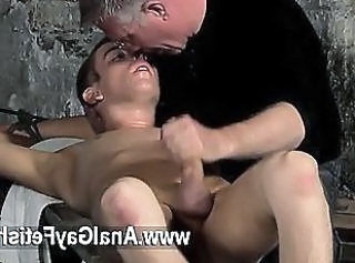 Gay orgy British twink Chad Chambers is his latest victim, confined...