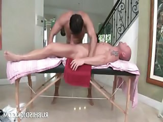 Body Massage Turning Into Gay Ass Fuck And Blowjob