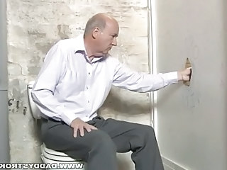 Silverdaddy Working Gloryhole Cock