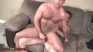 Hairy Straight Guy Gets His Ass...